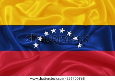 Flag of Venezuela - stock photo