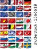 Flags. - stock photo