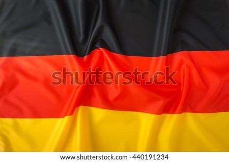 Flags of Germany - stock photo