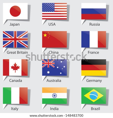 flags of the States.(vector version also available in my gallery)