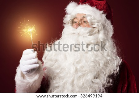 Flame as the symbol of homeyness - stock photo