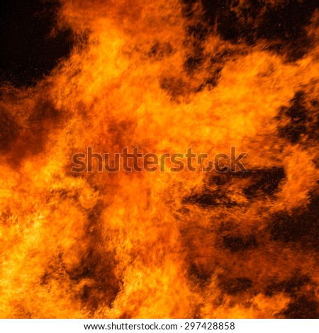 Flame background, texture. Maybe Halloween tye background.