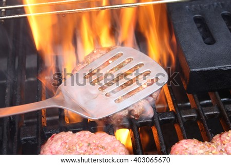 Flame-Broiled Burgers