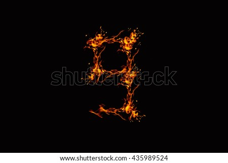 flames from Digits on a black background, not interested the focus.abstract style.Concept Design Ideas.nine