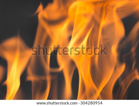 flames of fire as the background