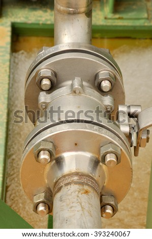 Flanged connection of Ball Valve