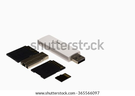 Flash Drives and Memory Cards