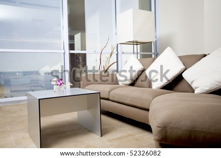 Flat - stock photo