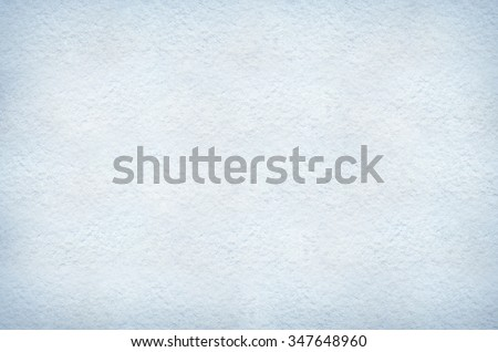 Flat white, light blue and cyan snow background texture. Space for lettering, text or copy. - stock photo