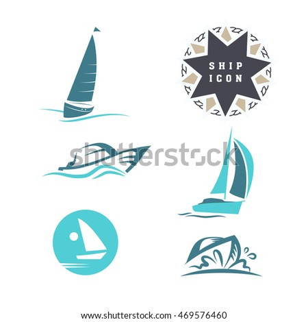 Flat yacht club regatta icon set stock illustration 469576460 flat yacht club regatta icon set sailing boat ship icon silhouette collection toneelgroepblik Image collections