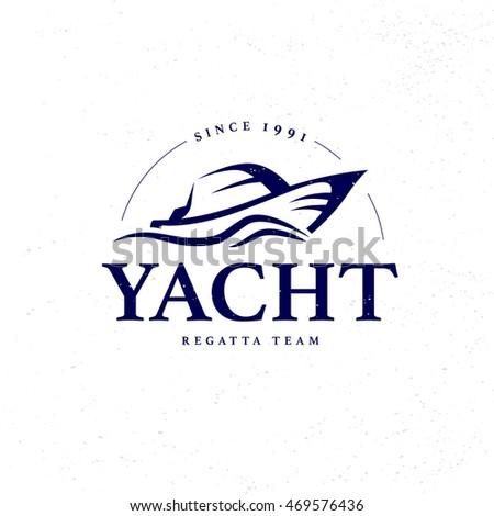 Flat yacht club regatta logo design stock illustration 469576436 flat yacht club regatta logo design sailing boat ship icon silhouette toneelgroepblik Images