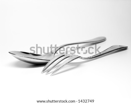 flatware - fork and spoon
