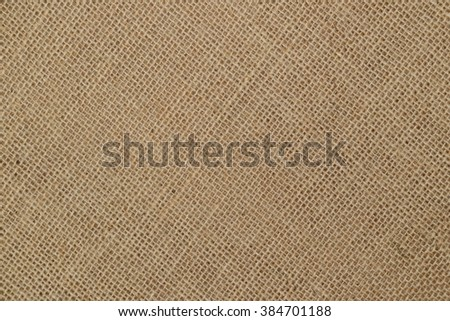 Flax burlap texture background