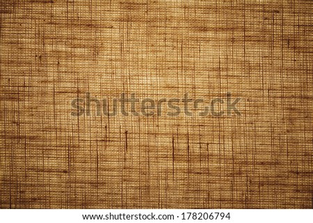 Flax textile texture - stock photo