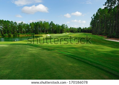 Fleming Island Golf Club - stock photo