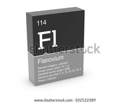Flerovium from Mendeleev's periodic table