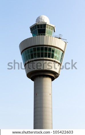 Flight control tower top