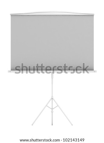 Flip chart on white background