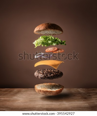 Floating Burger
