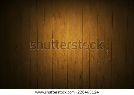 flood light on brown wall background - stock photo