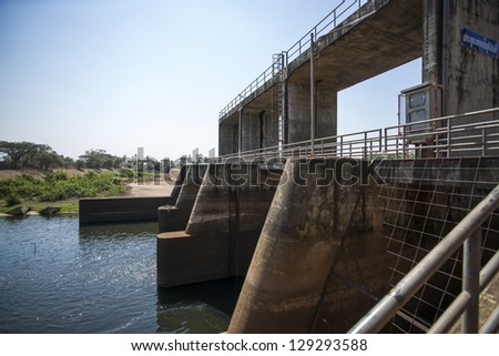 Floodgates Stock Photos, Illustrations, and Vector Art
