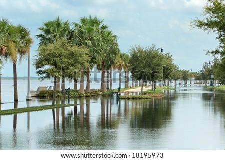 Flooding - stock photo