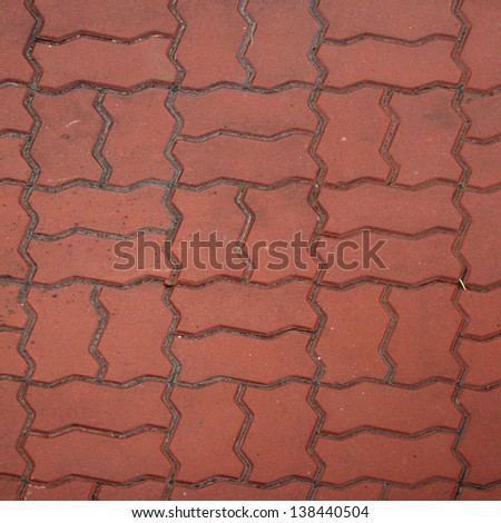 Floor tiles useful as a background - stock photo