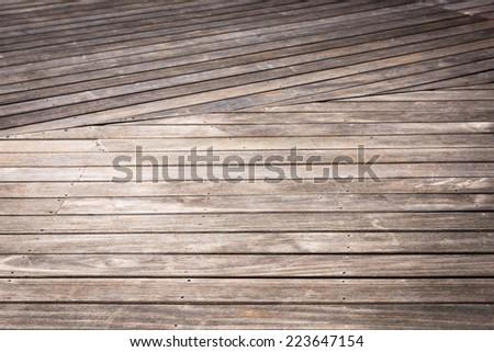 floor wood background - stock photo