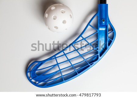 Floorball - Stick and ball