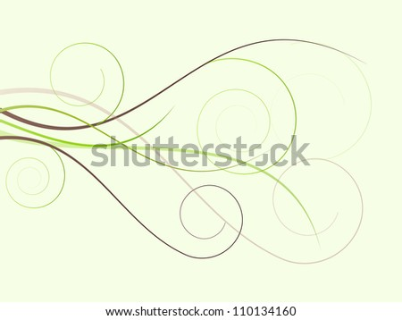 Floral abstract background for spring and summer - stock photo