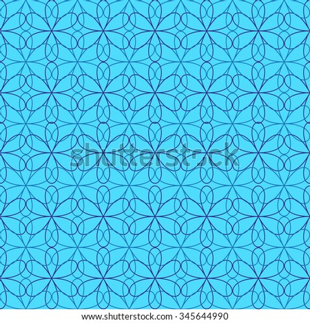 floral abstract pattern. ornament