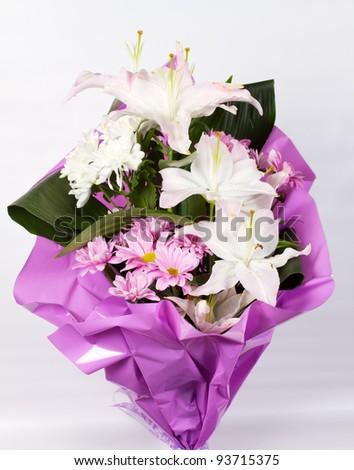 Floral arrangement - stock photo