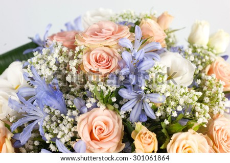 floral gift - stock photo