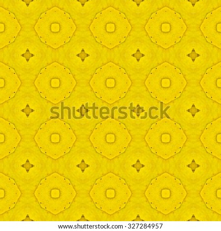 Floral Kaleidoscopic mosaic seamless texture or background