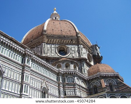 Florence cathedral dome (Brunelleschi's dome)