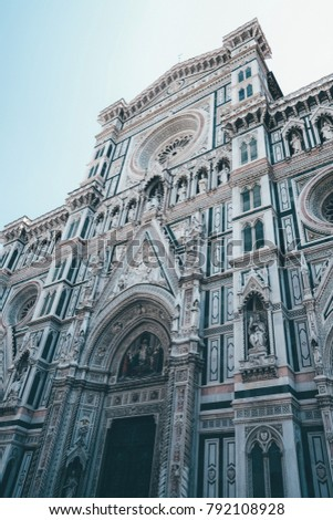 Florence Cathedral Street Photography in Florence, Italy.