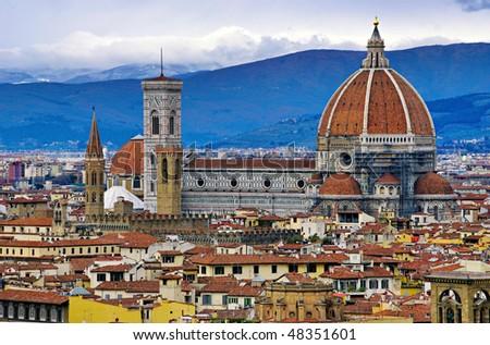 Florence Duomo. Italy. - stock photo