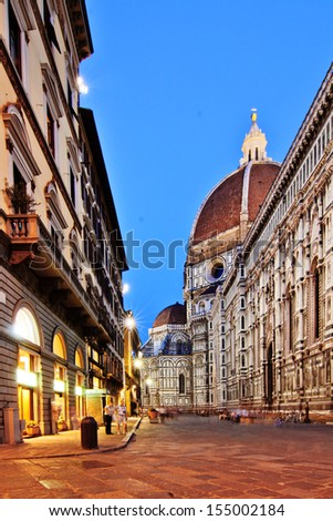 Florence in Italy  - stock photo