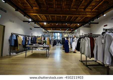 florence italy jun a cos store in florence launched