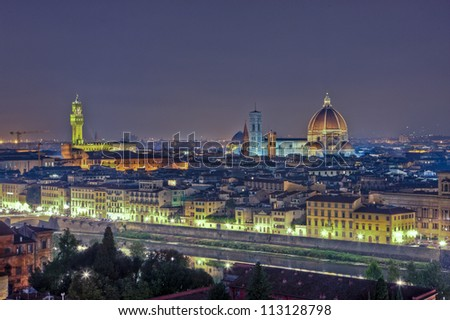 florence nightscape