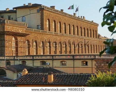 Florence, Pitti�¬'s palace D - stock photo