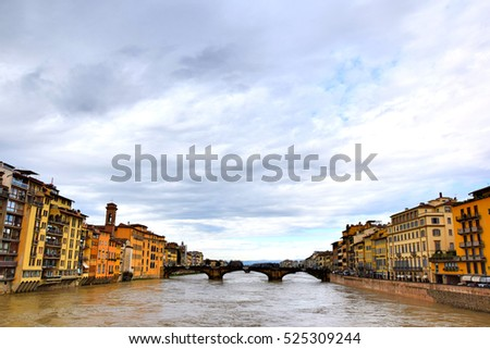 Florence River by Day