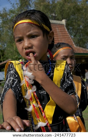 Flores-december 02. Ngada people at Wagomenge Flores Indonesia 02-12-2012