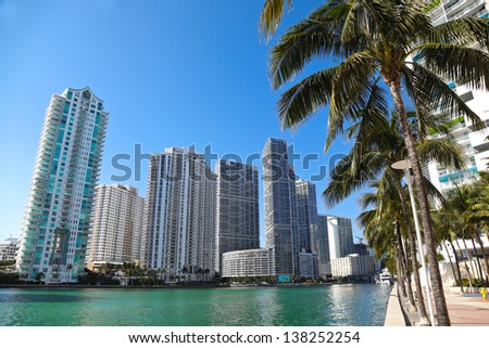 Florida Style, Miami - stock photo