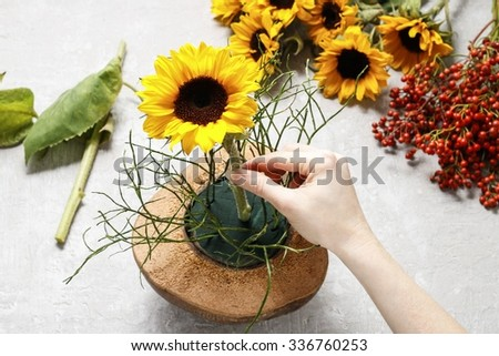 wild Sunflowers Stock Photos Royalty Free Images amp Vectors Shutterstock