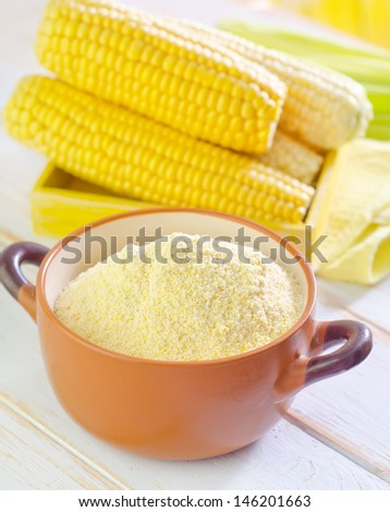flour and corn