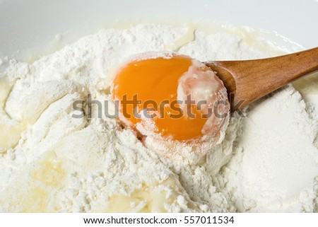Flour and eggs /Nutrition pasta
