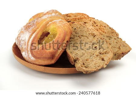 Flour products -  bread and pastries.