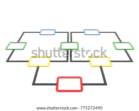 Flow chart diagram planning 3 d render em ilustrao stock 775272490 flow chart diagram planning 3d render ccuart Image collections