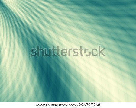 Flow energy blue green wallpaper web background - stock photo